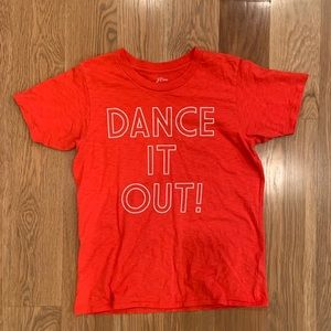 """J. Crew """"Dance it Out"""" T Shirt in Bright Cerise"""